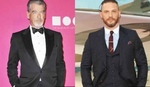 WOW! Pierce Brosnan Ingin Tom Hardy Jadi James Bond Baru