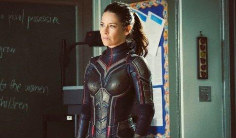 OMG! Evangeline Lilly Sulit Makan Pas Pakai Kostum The Wasp