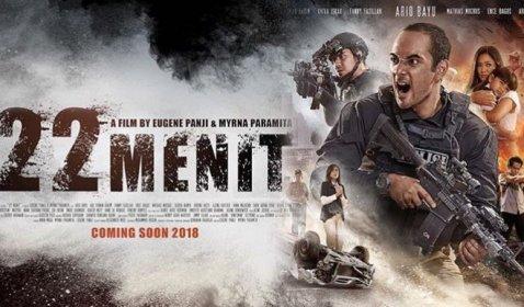 Penonton Membludak, 22 Menit Jadi Film Action Terlaris Pertama Tahun Ini