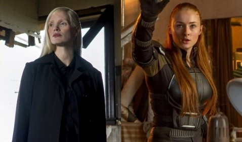 OMG! Jessica Chastain Cekik Sophie Turner di X-Men: Dark Phoenix