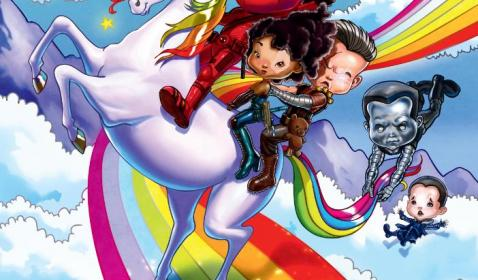 Kocak! Deadpool 2 Rilis Poster IMAX Kartun Anak Kecil