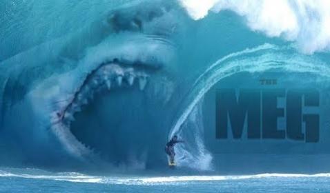 WOW! Jason Statham Lolos Dari Terkaman Hiu di Trailer Baru The Meg