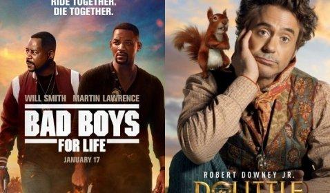Bad Boys for Life Kalahkan Dolittle di Puncak Box Office