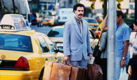 WOW! Sacha Baron Cohen Diam-Diam Syuting Sekuel Borat!