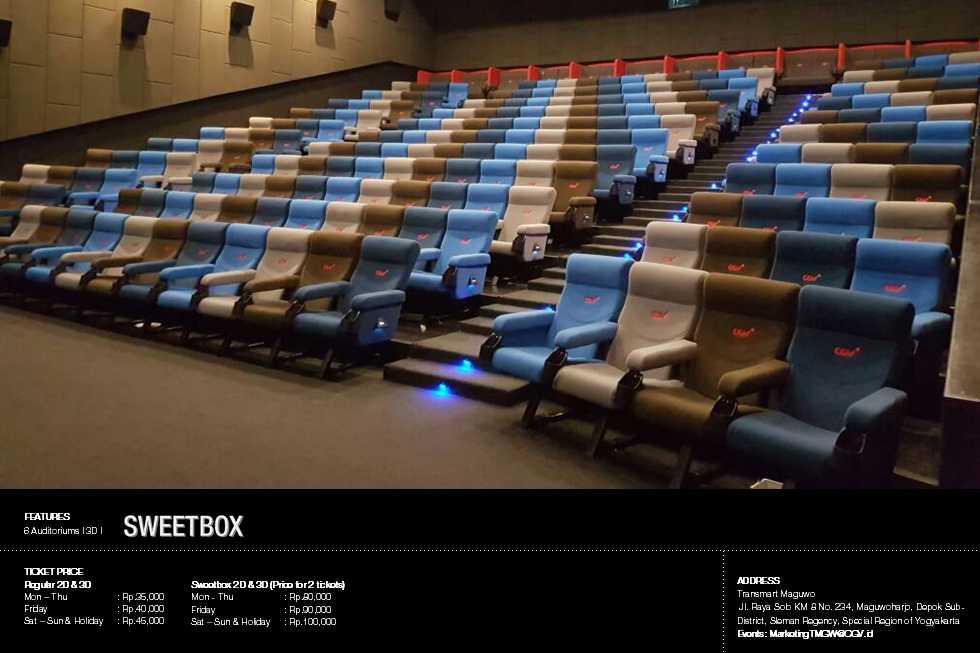 Daftar bioskop XXI, CGV dan Cinemaxxx di YOGYAKARTA